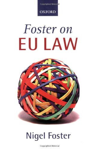 9780199268429: Foster on EU Law