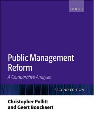 9780199268481: Public Management Reform: A Comparative Analysis