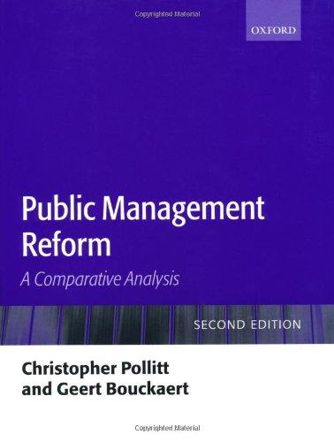9780199268498: Public Management Reform: A Comparative Analysis
