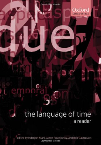 9780199268535: The Language of Time: A Reader