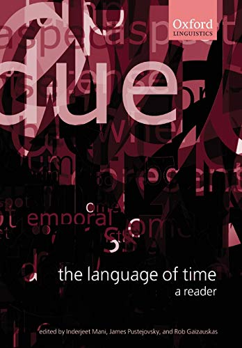 9780199268542: The Language of Time: A Reader