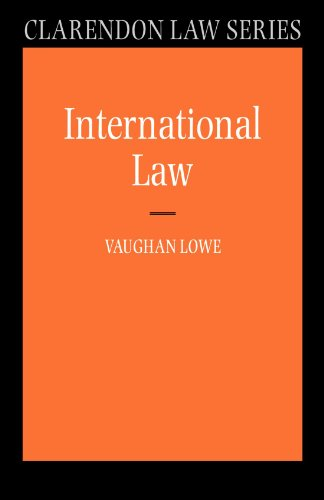 9780199268849: International Law (Clarendon Law Series)