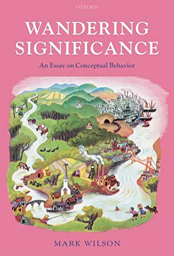 9780199269259: Wandering Significance: An Essay on Conceptual Behaviour