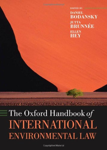 9780199269709: The Oxford Handbook of International Environmental Law (Oxford Handbooks in Law)