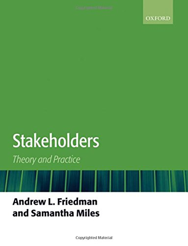 9780199269860: Stakeholders: Theory and Practice