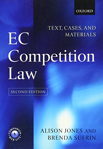 9780199269976: EC Competition Law: Text, Cases, and Materials