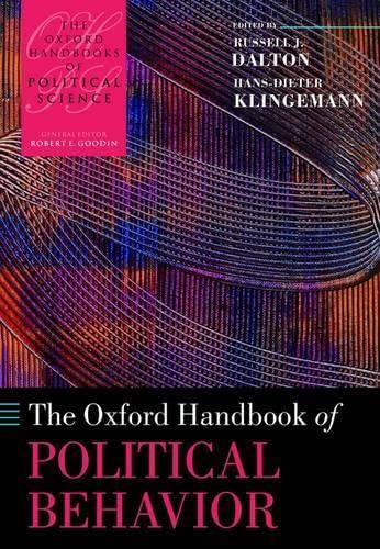 9780199270125: The Oxford Handbook of Political Behavior (OXFORD HANDBOOKS POL SCIENCE SERI OHPS C)