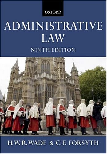 9780199270217: Administrative Law