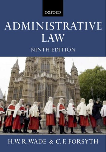 Administrative Law: William Wade
