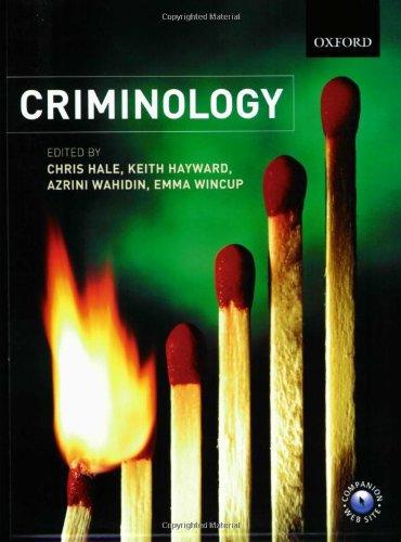 9780199270361: Criminology