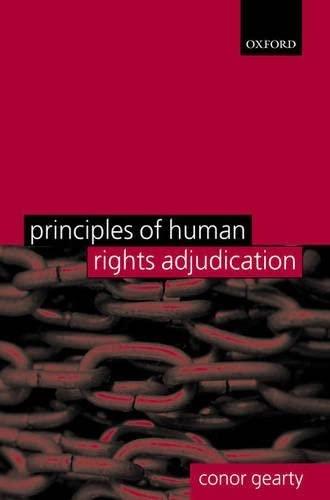 9780199270682: Principles of Human Rights Adjudication
