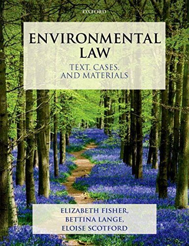 9780199270880: Environmental Law: Text, Cases, and Materials