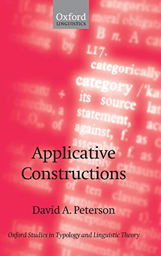 9780199270927: Applicative Constructions