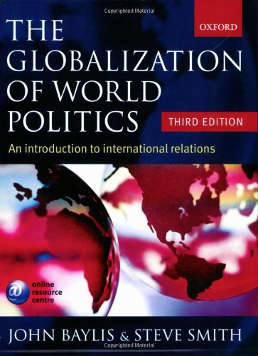 9780199271184: The Globalization of World Politics: An Introduction to International Relations