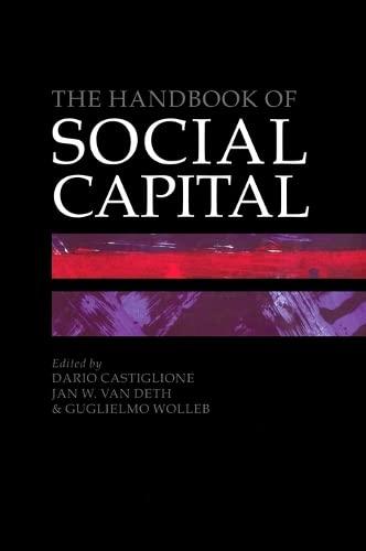 9780199271238: The Handbook of Social Capital