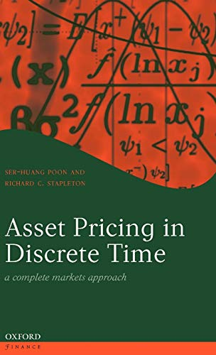 9780199271443: Asset Pricing in Discrete Time: A Complete Markets Approach (Oxford Finance Series)