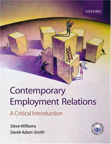 9780199272433: Contemporary Employment Relations: A Critical Introduction