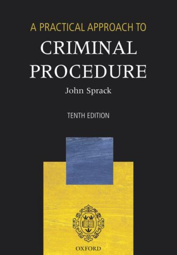 9780199272570: A Practical Approach to Criminal Procedure