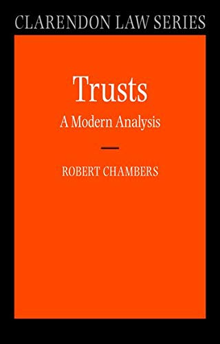 9780199272594: Trusts: A Modern Analysis