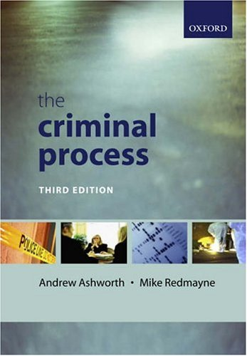 9780199273386: The Criminal Process