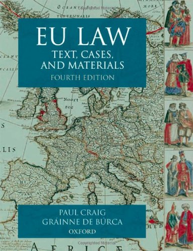 9780199273898: EU Law: Text, Cases and Materials