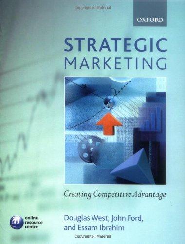 9780199273980: Strategic Marketing: Creating Competitive Advantage