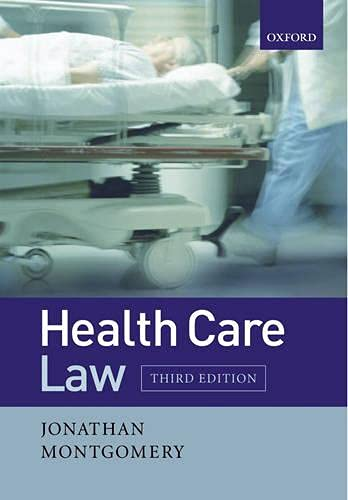 9780199274482: Health Care Law