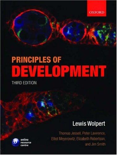 9780199275373: Principles of Development