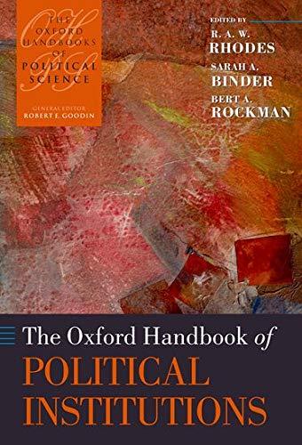 9780199275694: The Oxford Handbook of Political Institutions (Oxford Handbooks)