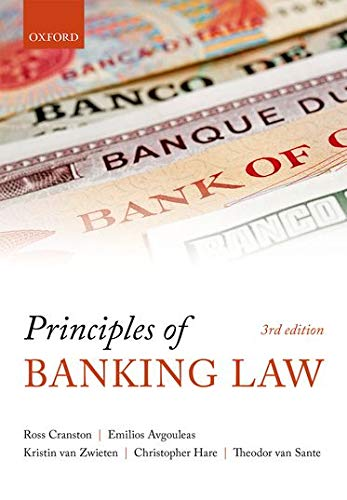 9780199276080: Principles of Banking Law
