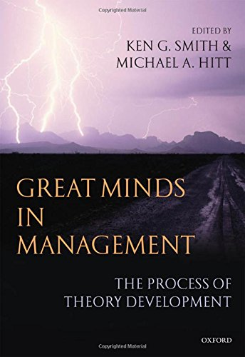 9780199276813: Great Minds in Management: The Process of Theory Development