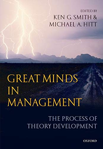 9780199276820: Great Minds in Management: The Process of Theory Development