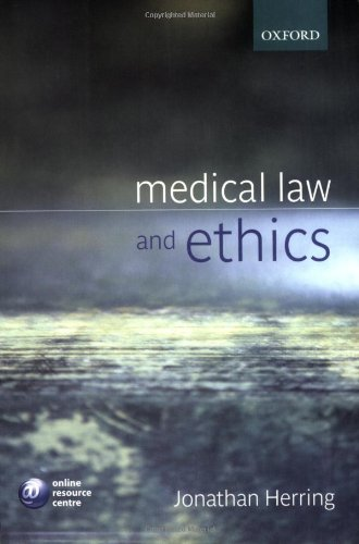 9780199276967: Medical Law and Ethics