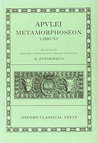 9780199277025: Apulei Metamorphoseon Libri XI (Oxford Classical Texts)