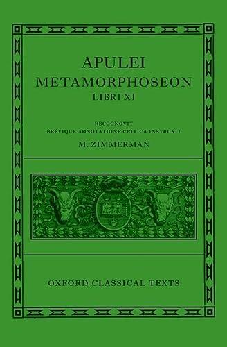 9780199277025: Apulei Metamorphoseon Libri XI