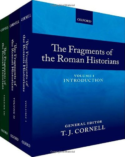 9780199277056: The Fragments of the Roman Historians