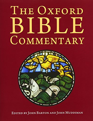 9780199277186: The Oxford Bible Commentary