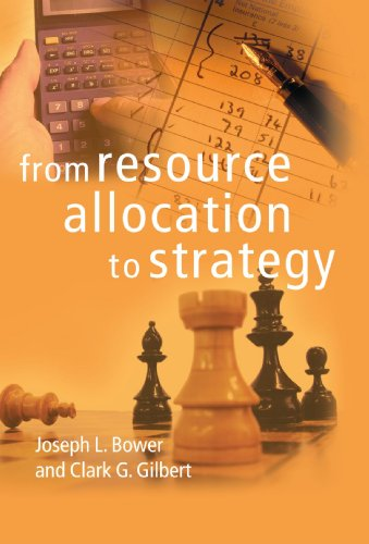 9780199277452: From Resource Allocation to Strategy