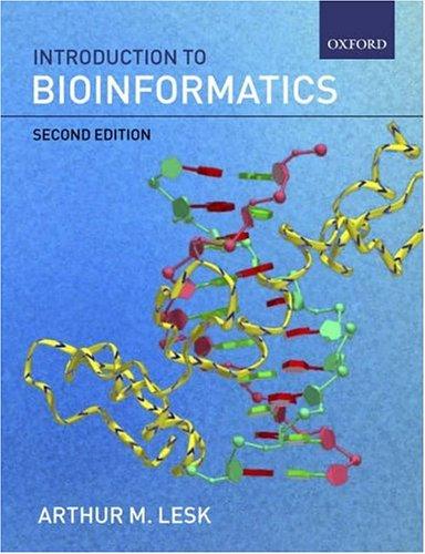 9780199277872: Introduction to Bioinformatics