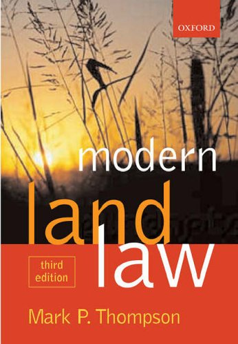 9780199277902: Modern Land Law