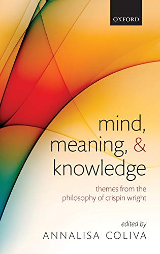 9780199278053: Mind, Meaning, and Knowledge: Themes from the Philosophy of Crispin Wright