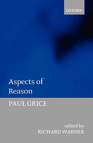 9780199278435: Aspects of Reason