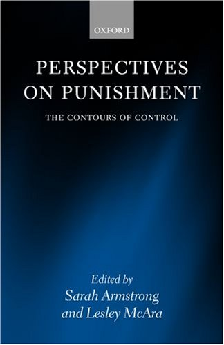 9780199278763: Perspectives on Punishment: The Contours of Control