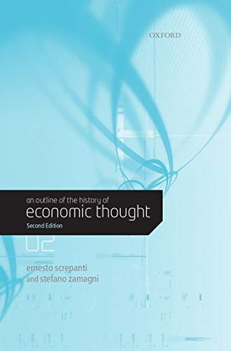 9780199279135: An Outline of the History of Economic Thought