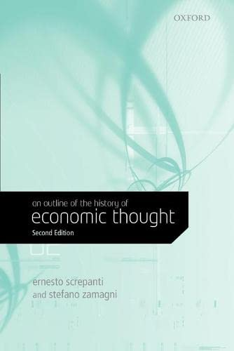 9780199279142: An Outline of the History of Economic Thought