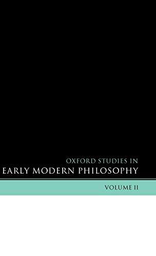 9780199279753: 2: Oxford Studies in Early Modern Philosophy: Volume II