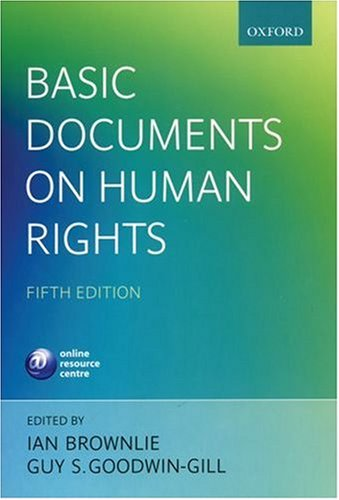 9780199279838: Basic Documents on Human Rights