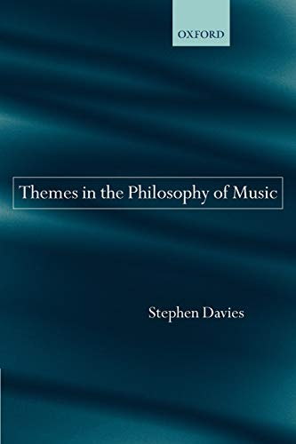 9780199280179: Themes in the Philosophy of Music