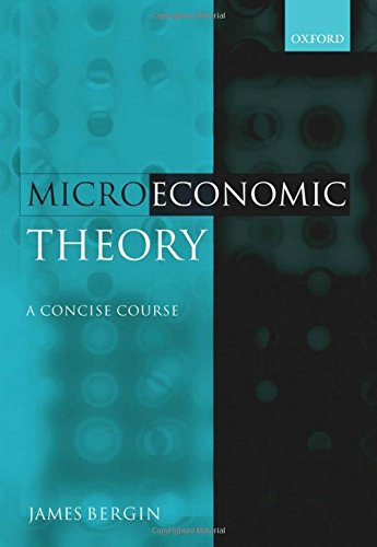 9780199280292: Microeconomic Theory: A Concise Course