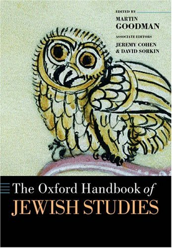 9780199280322: The Oxford Handbook of Jewish Studies (Oxford Handbooks)